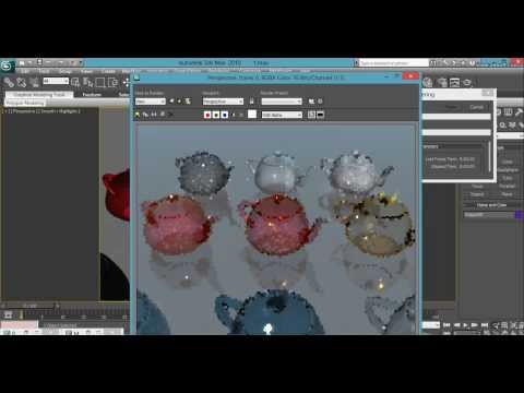 3ds Max Mental Ray Arch Design Material