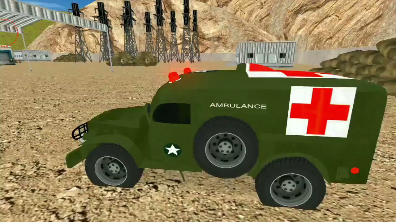 Army Vehicles Car Transport Android Gameplay [HD]
