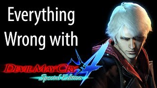GAME SINS | Everything Wrong with Devil May Cry 4