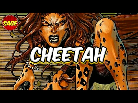 Who is DC Comics Cheetah? Cursed to hunt... especially Amazons.