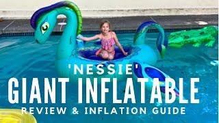 Sun Daze Nessie Giant Inflatable Sea Monster Float Review