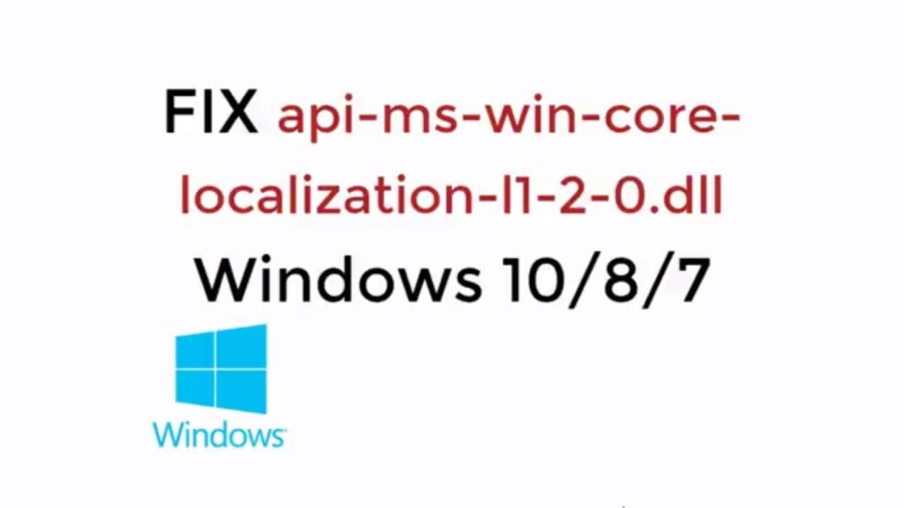 dll fixer for windows 10