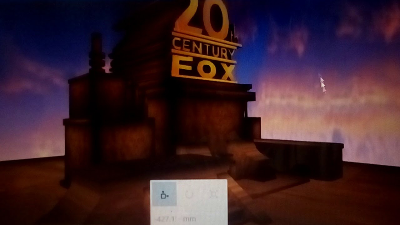 20th century fox logo in microsoft 3d builder