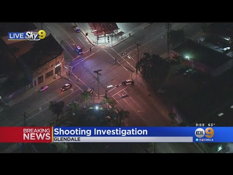 Police Searching For Suspect In Glendale Shooting