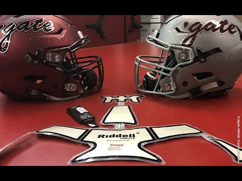 ce80570bb50 Colgate Football  Riddell InSite Impact Monitoring Technology - YouTube