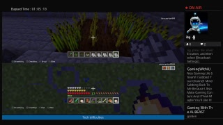 Minecraft ps4 live with my brother