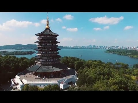 Time-lapse China - Hangzhou City,  Zhejiang(Fabulous Hangzhou 2015 集美杭城), 中國浙江杭州延時攝影