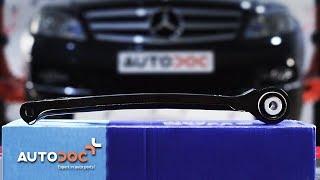 Como trocar braço inferior traseiro de suspensão dianteira MERCEDES-BENZ C W204 TUTORIAL | AUTODOC