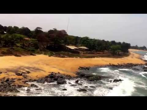 Liberia From Above!                                 Low Flying Monrovia, Liberia.(part1)