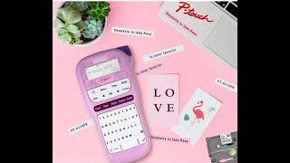 ¿Cómo usar la etiquetadora P-Touch H110 Pink de Brother? (español)