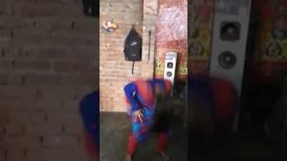 Randi Dance at home in practice