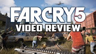 Far Cry 5 Review (A More Refined Open World Game) - Gggmanlives