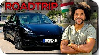 Tesla Model 3 Autopilot Roadtrip Nach Ungarn