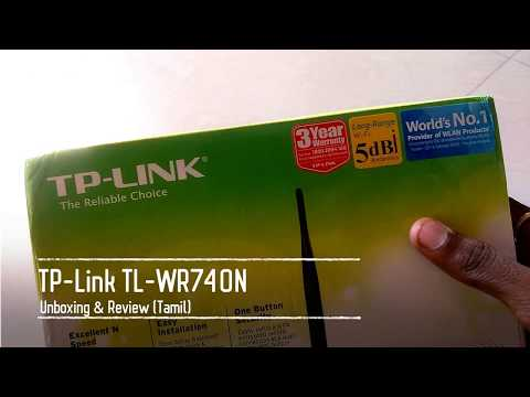 TP-Link WR740N Wifi Router Unboxing & Complete Review (Tamil) Full HD