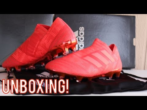 ac3f5ea57344 Adidas Nemeziz 17+ Cold Blooded Pack - Unboxing - YouTube
