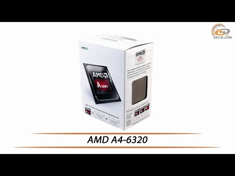 APU AMD A4-6320 - Review & Testing
