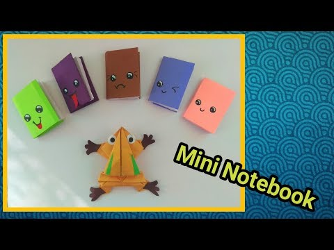 Diy Small Notebook | How to make small notebook from A4 Size paper