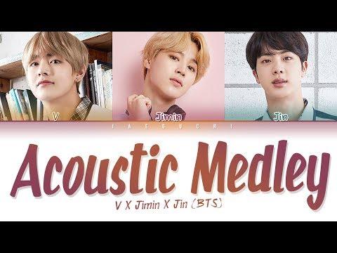 BTS (방탄소년단) - Special Acoustic Medley (Color Coded Lyrics Eng/Rom/Han/가사)