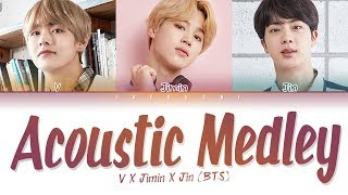 BTS (방탄소년단) - Special Acoustic Medley (Color Coded Lyrics Eng/Rom/Han/가사)