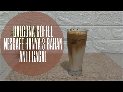 RESEP DALGONA COFFEE CARA MEMBUAT DALGONA COFFEE NESCAFE ...