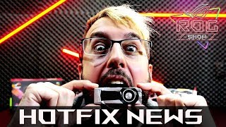 ROG Show - HotFix News 002 | Giveaway! Loot Box Law, Fortnite + PUBG w/ 1050 Ti | ROG