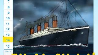 How to draw a Ship from the movie Titanic 3D