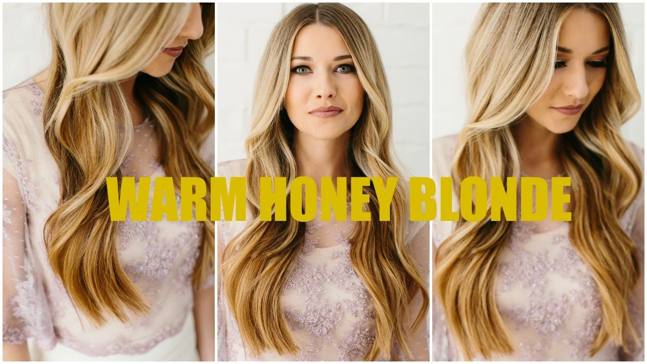 Warm Honey Blonde Youtube