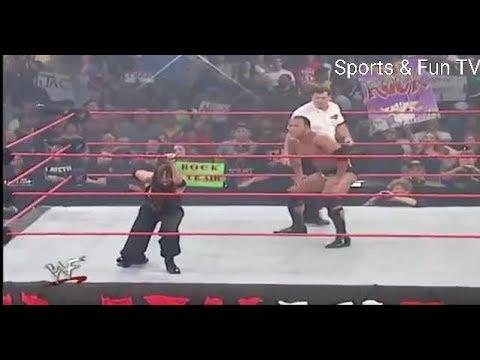 Download The Rock vs Stephanie McMahon & Test WWE RAW 720p 001