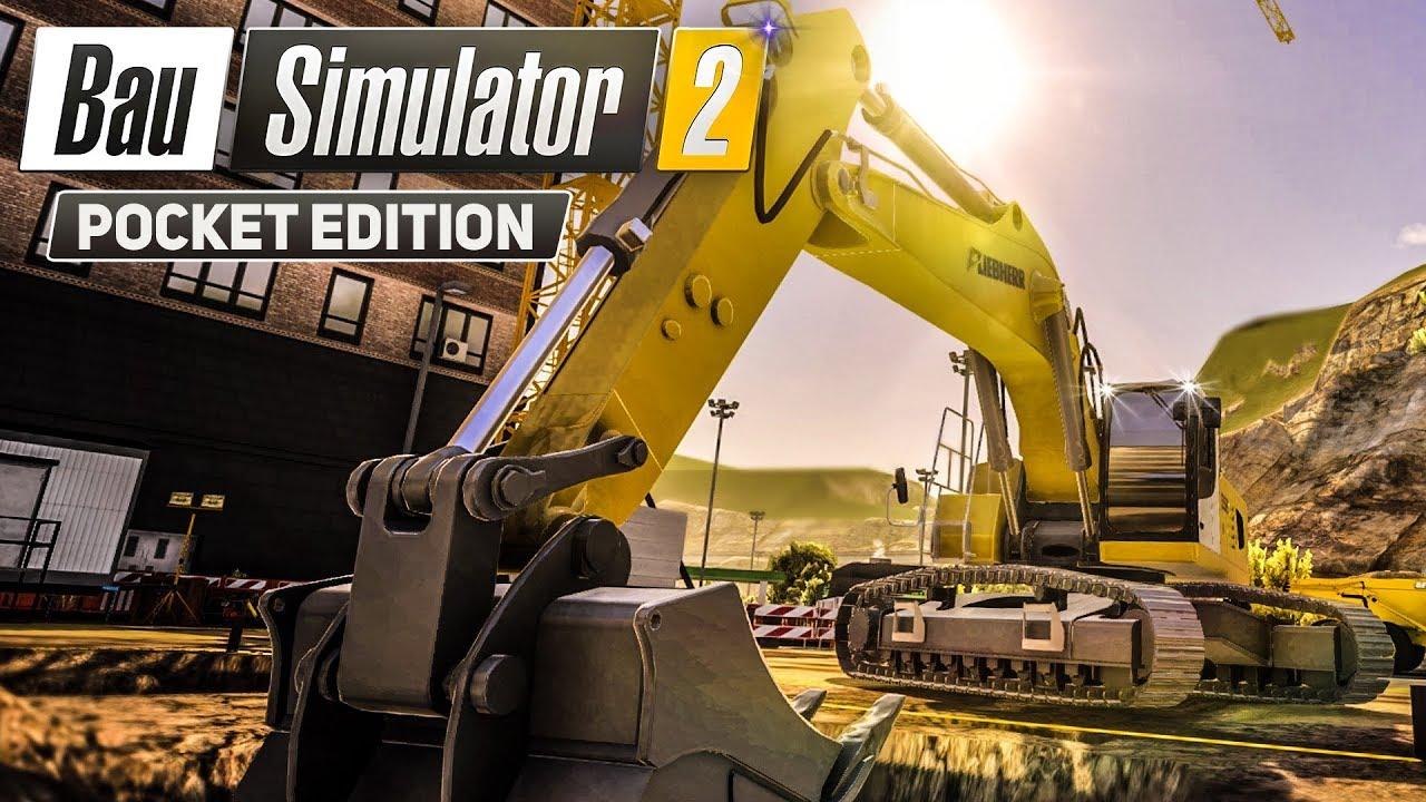 bau simulator 2 3 kuriose baustoff lieferung construction simulator 2 pocket edition youtube. Black Bedroom Furniture Sets. Home Design Ideas