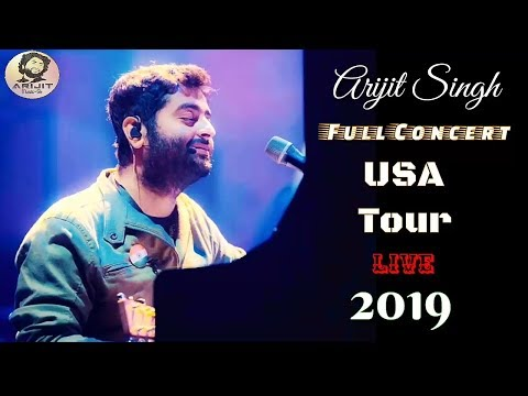 Arijit Singh | Live | USA Tour | Full Concert | Performance | Full Video | 2019 | HD