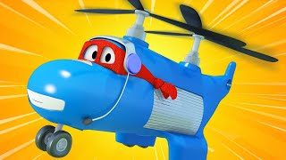 Truck videos for kids -  The HELICOPTER TRUCK - Super Truck in Car City !