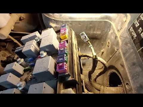 Kia Sportage II ремонт отопителя