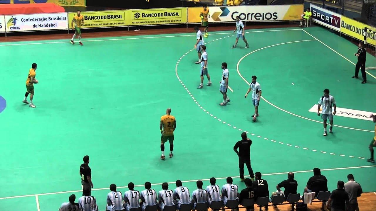 Argentina Vs Brasil: Handball ARGENTINA Vs BRASIL PT3