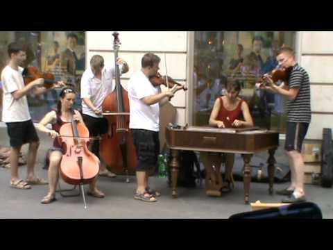 Old Russian Song Nasténka  Cimbal  Orchestra Cimballicacz