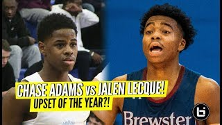 Jalen Lecque vs Chase Adams! UPSET OF T...