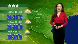 VTC14 | Thời tiết 12h 18/02/2018 | Thời tiết ổn định tới ngày 20/02 sẽ có không khí lạnh tăng cường