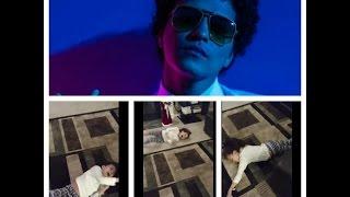 Bruno Mars 24K Magic Tour Ticket Surprise, 8 yr. old's Reaction, Priceless! (2nd Row VIP Tix)