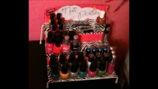 ❤ Diy Nail Polish/hand Sanitizer/makeup Shelf ❤ Read Description!
