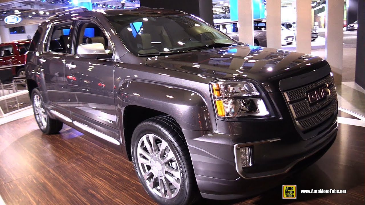 2016 GMC Terrain Denali AWD - Exterior and Interior ...