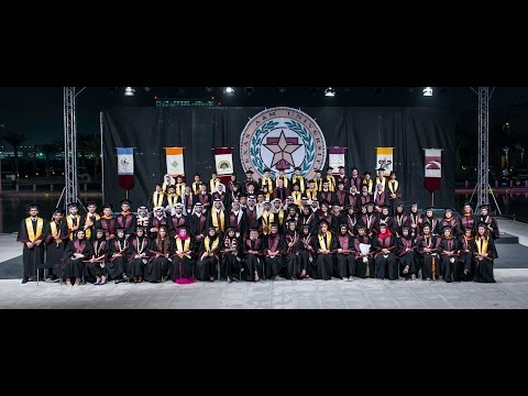 Texas A&M University at Qatar Commencement 2015