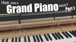 How does a Grand Piano work? - Part 1