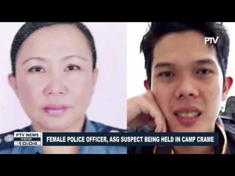 Female Police Office, ASG suspect being held in Camp Crame