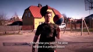 Unlikeall ball spinning tutorial Урок фристайла, как крутить мяч на пальце