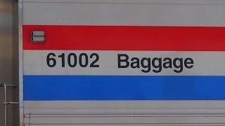 First California Zephyr Using Viewliner Baggage Car