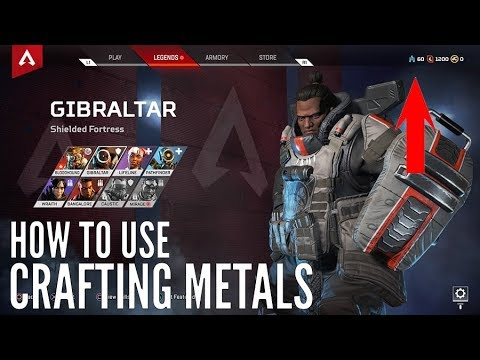 Apex Legends – HOW TO USE CRAFTING METALS