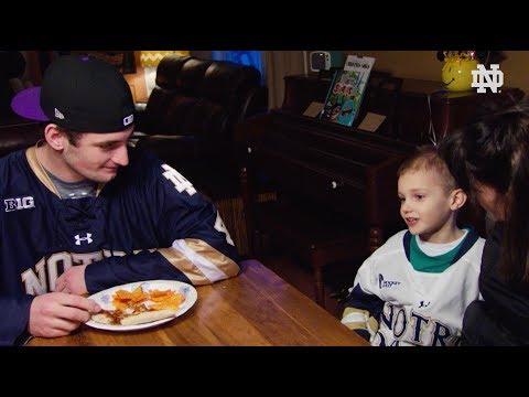 @NDHockey | Hanging with Rudy