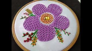 Hand Embroidery - Lace Stitch Embroidery