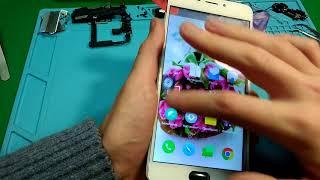 Ремонт Meizu M5 Note Киев. Замена стекла, сенсора (тачскрина)