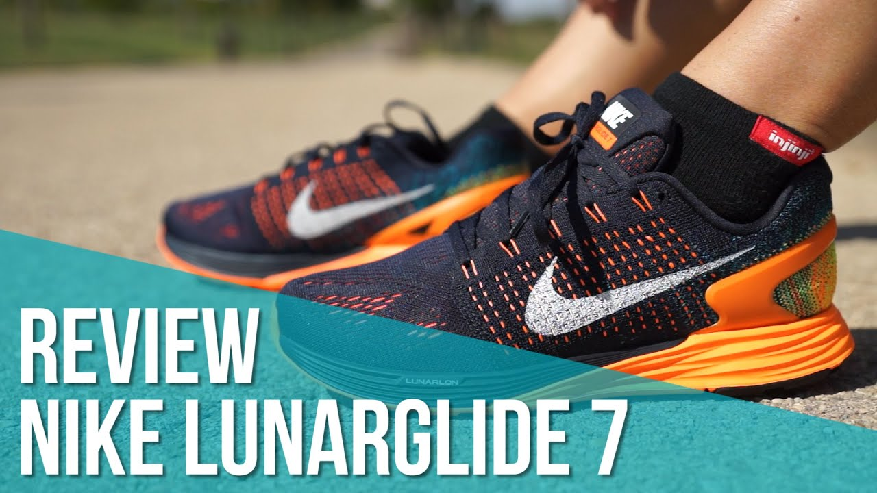 4d3a5301e2020 Review Nike LunarGlide 7 (Hombre) - YouTube