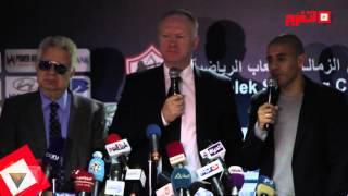 اتفرج|مرتضى منصور: «ماكليش صحته حلوة.. اوعى تترجمله دي يا زيدان»